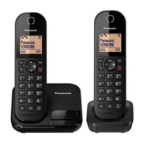 PANASONIC 雙機無線電話 KX-TGC412HKB黑