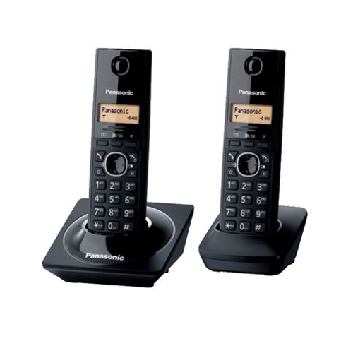 PANASONIC 雙機無線電話 KX-TG1712EB黑