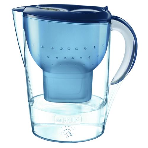 BRITA MARELLA XL MX+濾水壺 3.5L 藍色
