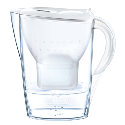 BRITA MARELLA COOL MX+濾水壺 2.4L 白色