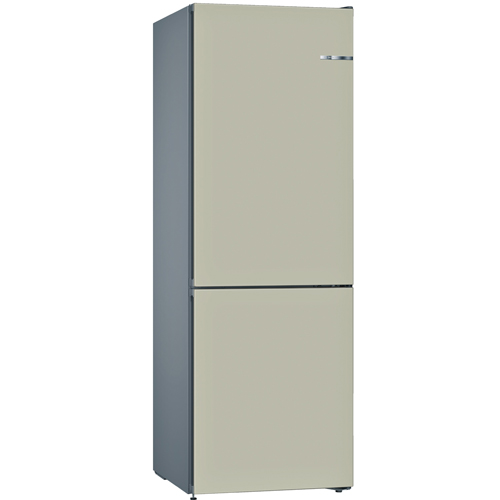 BOSCH [i]324L雙門雪櫃/配可更換門板 KVN36IK3AK-香濱金