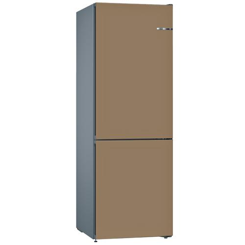 BOSCH 324L雙門雪櫃/配可更換門板 KVN36IC3AK-棕啡色
