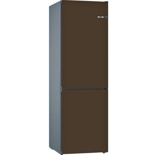 BOSCH 324L雙門雪櫃/配可更換門板 KVN36ID3AK-深褐色