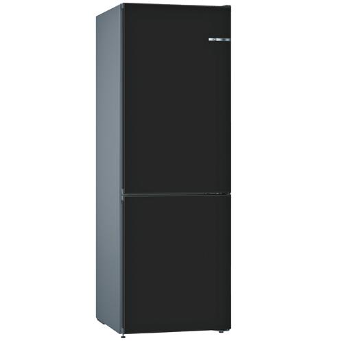 BOSCH [i]324L雙門雪櫃/配可更換門板 KVN36IZ3AK-時尚黑