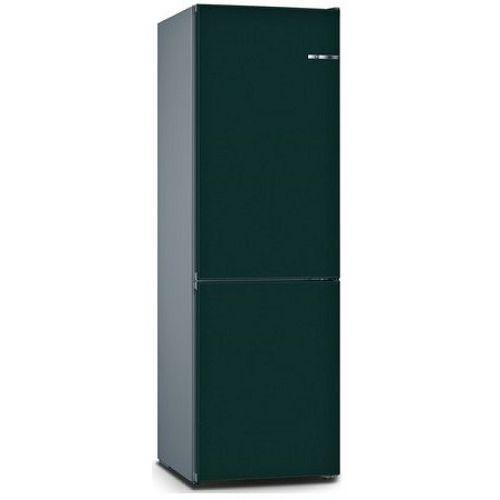 BOSCH 324L雙門雪櫃/配可更換門板 KVN36IU3AK-礦石藍