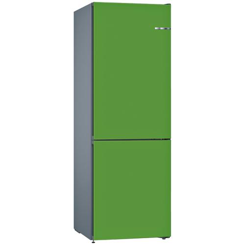 BOSCH 324L雙門雪櫃/配可更換門板 KVN36IJ3AK-薄荷綠