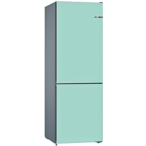 BOSCH 324L雙門雪櫃/配可更換門板 KVN36IT3AK-淡藍