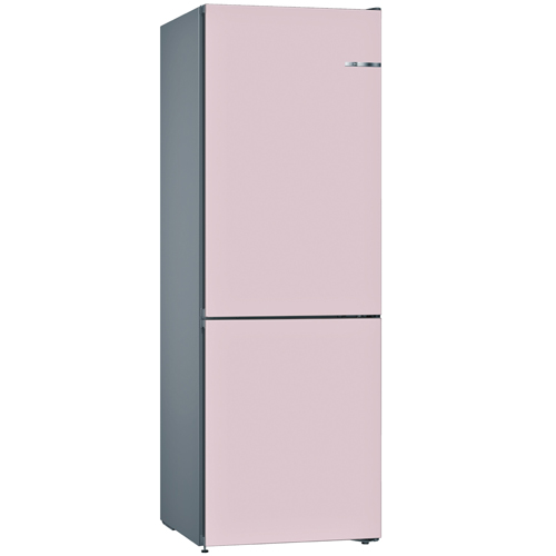 BOSCH 324L雙門雪櫃/配可更換門板 KVN36IP3AK-玫瑰粉