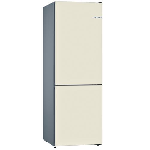 BOSCH [i]324L雙門雪櫃/配可更換門板 KVN36IV3AK-珍珠白