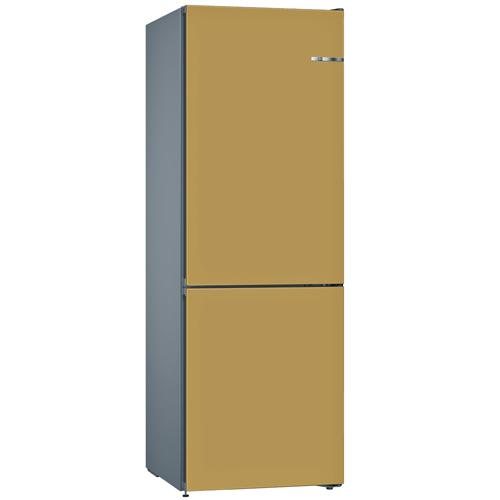 BOSCH 324L雙門雪櫃/配可更換門板 KVN36IX3AK-寶石金