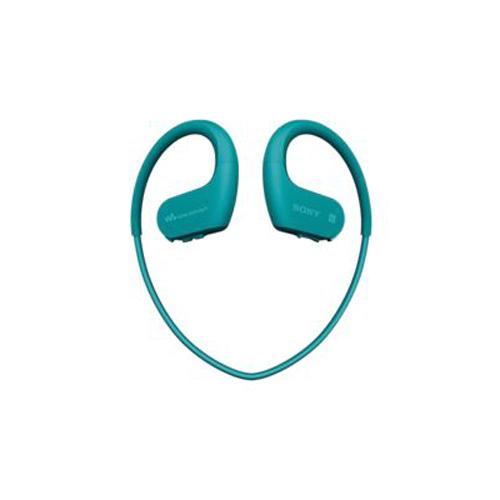 SONY 防水藍牙掛耳式MP3 4GB 海藍 NW-WS623/LME