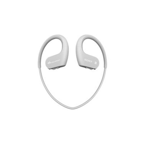 SONY 防水藍牙掛耳式MP3 4GB 灰白 NW-WS623/WME