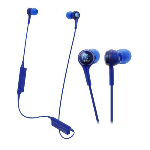 audio-tech Bluetooth In-Ear Earphones 藍 ATH-CK200BT BL