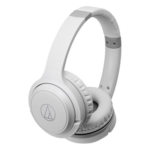 audio-tech Wireless Portable On-Ear Headphones 白 ATH-S200BT WH
