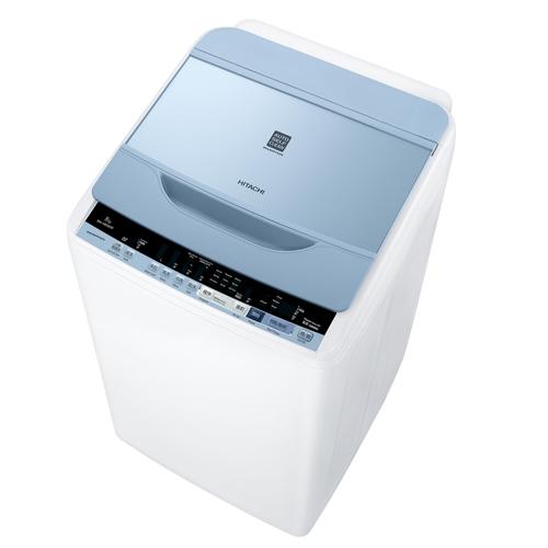 HITACHI 8KG上置式洗衣機 BWV80BSP-W白 高水位
