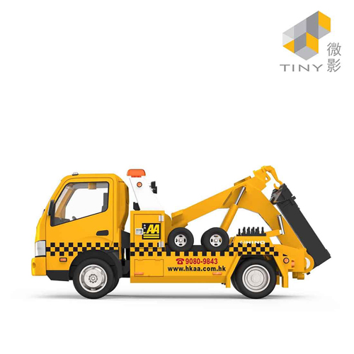 Tiny微影 日野300拖車-香港汽車會 [1:43]