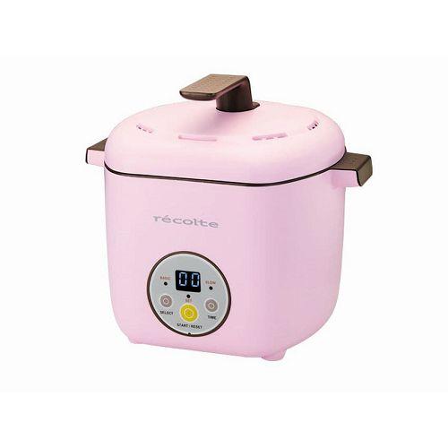 RECOLTE 日式電飯煲 RHC-1/P粉紅色