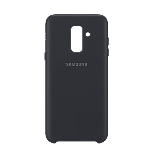 Samsung A6+ 雙層薄型保護殼 黑色