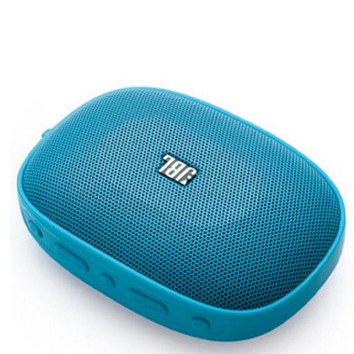 JBL [i/換]便攜藍牙喇叭 支援TF卡音樂播放+FM SD-12 Blue