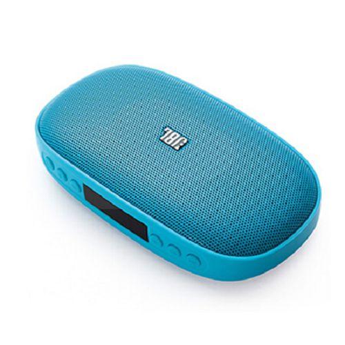 JBL 便攜藍牙喇叭 [支援TF卡/USB音樂播放+電台] SD-18 Blue