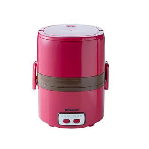RASONIC 雙層蒸煮盒 RSB-B2TR紅