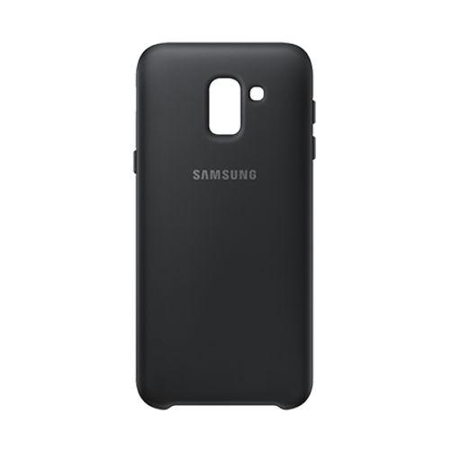 Samsung J6 雙層薄型保護殼 黑色