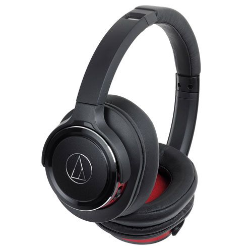 audio-tech Bluetooth Portable Headphones 黑紅 ATH-WS660BT BRD
