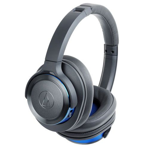 audio-tech Bluetooth Portable Headphones 灰藍 ATH-WS660BT GBL