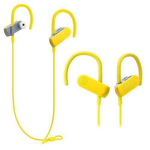 audio-tech Bluetooth Sport In-earphones 黃 ATH-SPORT50BT YL