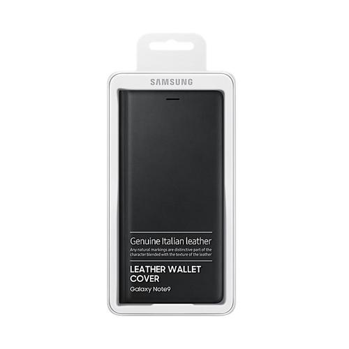Samsung NOTE9 皮革翻頁式皮套 Black