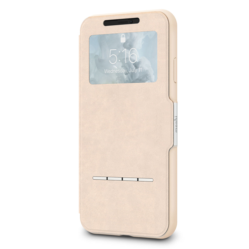 moshi SenseCover for iPhone XS Max Savanna Beige