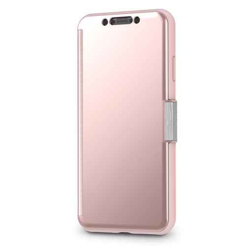 moshi StealthCover for iPhone XS Max Champagne Pink