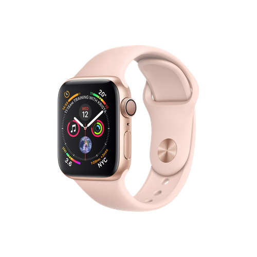 APPLE Watch S4 GPS 40mm Gold/Pink Sand Sport Band