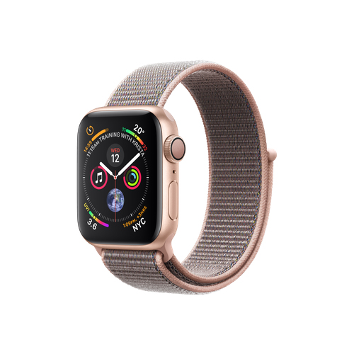 APPLE Watch S4 GPS 40mm Gold/Pink Sand Loop