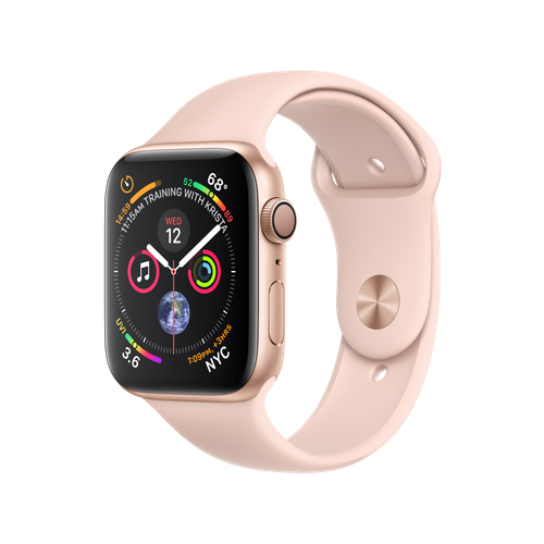 APPLE Watch S4 GPS 44mm Gold/Pink Sand Sport
