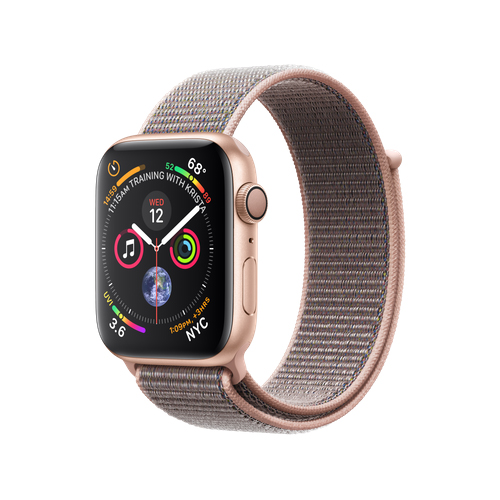 APPLE Watch S4 GPS 44mm Gold/Pink Sand Loop