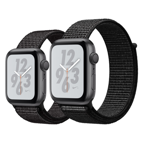 APPLE Watch Nike+ S4 GPS 40mm Space Grey/Black Loop