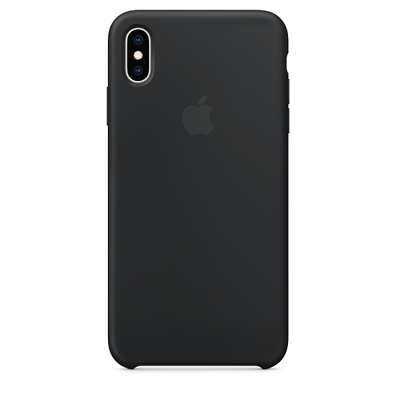 APPLE [i]iPhone XS Max Silicone Case Black