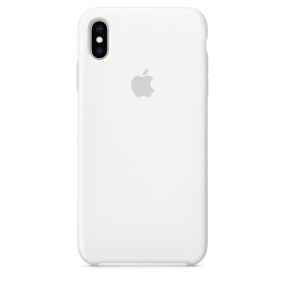 APPLE [i]iPhone XS Max Silicone Case White