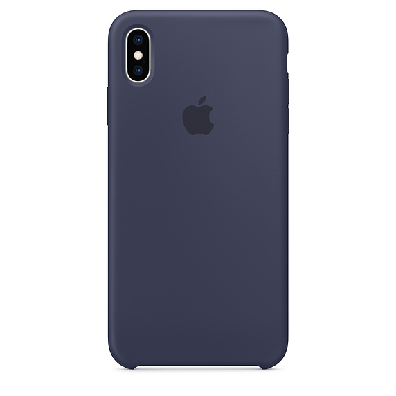 APPLE [i]iPhone XS Max Silicone Case Midnight Blue