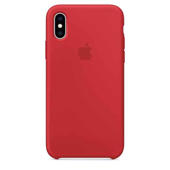 APPLE [i]iPhone XS Silicone Case RED