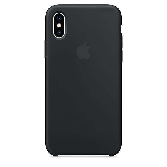 APPLE [i]iPhone XS Silicone Case Black