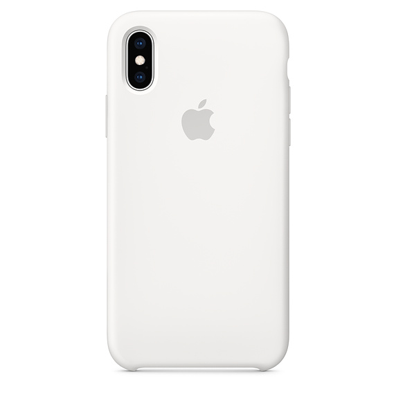 APPLE [i]iPhone XS Silicone Case White