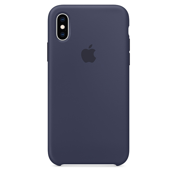 APPLE [i]iPhone XS Silicone Case Midnight Blue