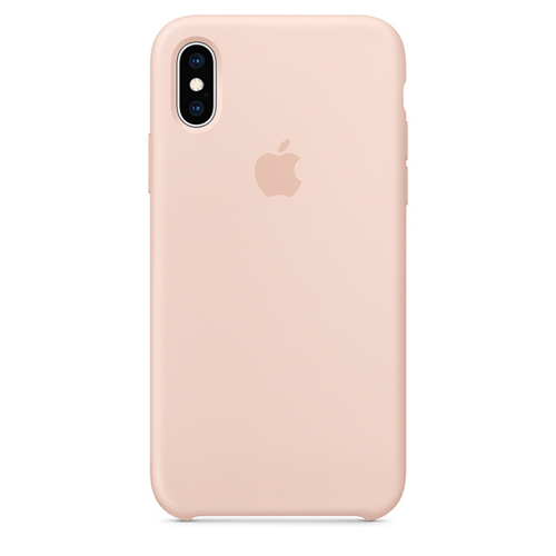 APPLE [i]iPhone XS Silicone Case Pink Sand