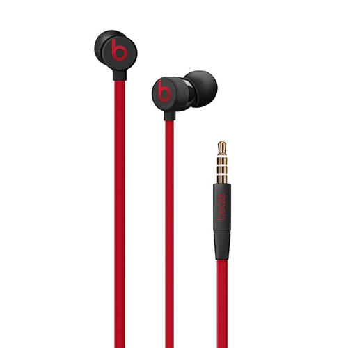 Beats urBeats3 Earphones with 3.5mm Plug Defiant Black