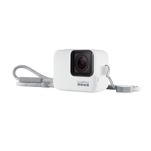 GoPro 保護套+掛繩 [Hero7 Black專用] ^ACSST-002 白