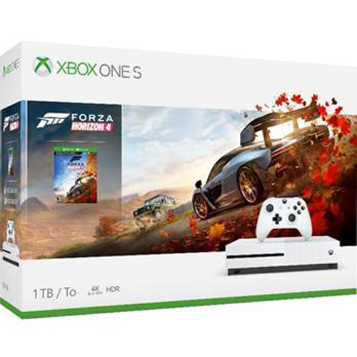 Microsoft XBOX ONE S Forza Horizon4 1TB 主機套裝