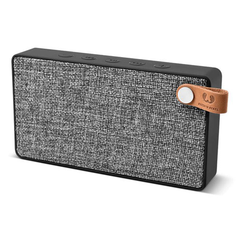 Fresh'N Re [S/i]Rockbox Slice Bluetooth Speaker Concrete