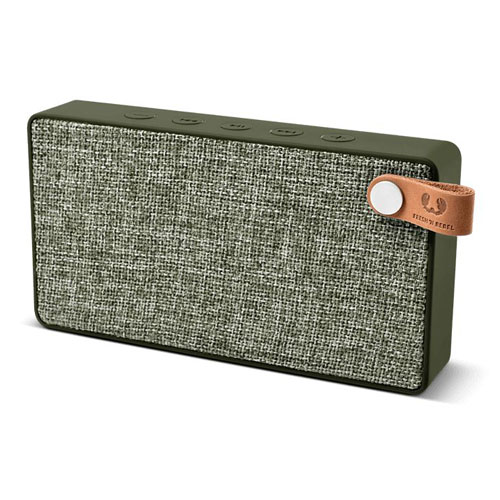 Fresh'N Re Rockbox Slice Bluetooth Speaker Army